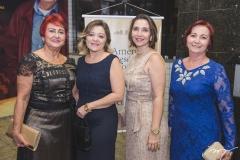 Rita de Cássia, Iara Sena, Caroline Alves e Rose Castela