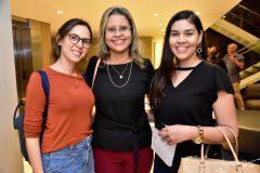 Raquel Saturno, Renata Pas e Daniele Nogueira