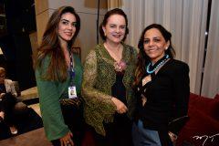 Renata Magalhães, Ethel Whitehurst e Imaculada Gordiano