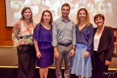Renata Santiago, Patricia Molino,  Luiz Antonio Miranda, Ticiana Rolim e Andrea Bezerra