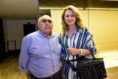 Wilton Daher e Monia Heuser