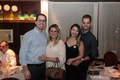 Alfredo e Ticiana Lima, Rebeca Campos e David Sucupira
