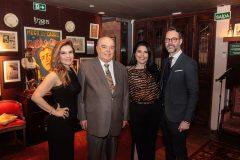 Fabiana Lustosa, José Benevides, Sellene e Marcelo Carneiro_