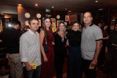 Francisco e Larice Lucena, Flávia Pinheiro, Kersya Coêlho e Gustavo Regis