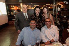 José Benevides, Sellene Câmara, Rebeca Campos, Emanuel Lopes e George Régis_
