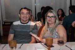 Ricardo Souza e Andrea Araújo