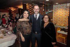 Sellene Câmara, Marcelo Carneiro e Ana Valeska Siebra