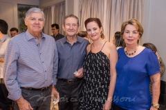 Alfredo Luzardo, Joaquim Regás, Jussara Regás e Lúcia Luzardo