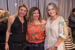 Inara de Almeida, Montiele Arruda e Andrea Fialho