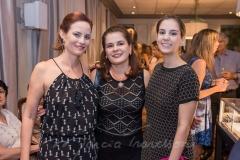 Jussara Regás, Marcia e Vanessa Oliveira