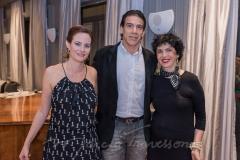 Jussara Regás, Wilson Loureiro e Beth Lazar