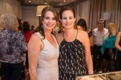 Márcia Andréia e Jussara Regás