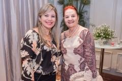 Rejane e Regina Santos