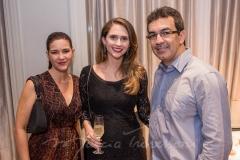 Ticiana Ponte, Sandra e Atila Martins
