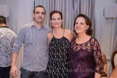 Walter, Jussara e Regina Regás