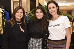 Deborah e Mila Chorovsky e Manuela Mendes