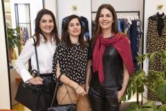 Virgina Sant' ana, Daniella Jordan e Sandra Boechat