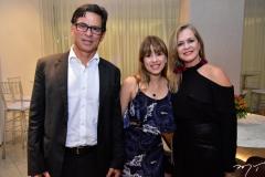 Aderbal Jr., Marcela e Giuliane Alves