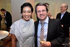 Beatriz Takahashi e Mauro Goldbaum