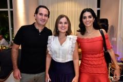 Felipe Felício, Gyna Jucá e Juliana Felício
