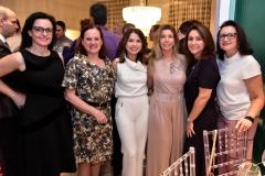 Fernanda Porto, Nilva de Moraes, Elaine Castro, Priscilla Bordon, Isabel Felix e Lilia Muralha