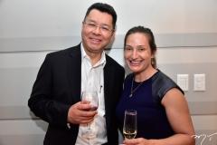 Fernando Arevalo e Densen Chow