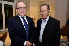 Jaco Lavinsk e Walter Takahashi