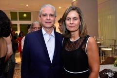Marcos Ávila e Nadja Kanja