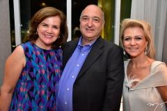 Mirella e Maurício Elieser e Ana Motta