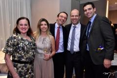 Nilva de Moraes, Priscilla e Arnaldo Bordon, Ricardo Japiassu e Leandro Zacharias