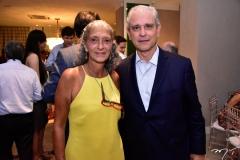 Elaine Castro e Marcos Ávila