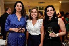 Silvana Vianello, Gyna Jucá e Fernanda Porto