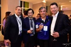 Tarek Hassan, David Wong e David Chow e Fernando Arevalo
