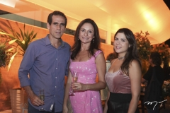 Airton Façanha, Ana Cristina e Mariana Mendes