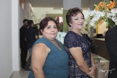 Célia Moreira e Francisca Feitosa
