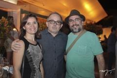 Isabel Botelho, Luís Sabadia e Juliano Smith