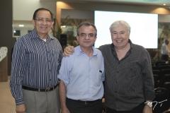 Janedson Baima, Milton Lima e Raimundo Andrade