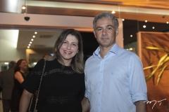 Micheline Chaves e Eduardo Aragão