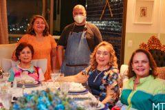 Jantar amigas Azuis