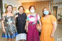 Marciane Martins, Marcia Medeiros, Tane Albuquerque e Maria Vital