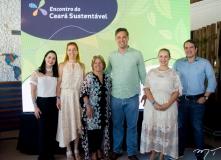 Alana Barros, Ticiana Rolim, Ana Lúcia Mota, Murilo Pascoal, Priscila Veras e Sérgio Maffioletti