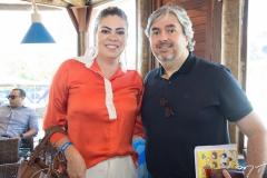 Cinthia Belino e Aroldo Rodrigues