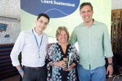 Erick Dias, Ana Lúcia Mota e Murilo Pascoal
