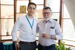 Erick Dias e Marcos Albuquerque
