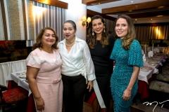 Maria Vidal, Ana Muniz, Márcia Travessoni e Águeda Muniz