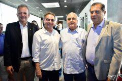 Andre Figueiredo, Leonidas Cristino, Roberto Pessoa e José Airton