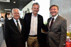 Carlos Saboya, Andre Figueiredo e Mauricio Filizola