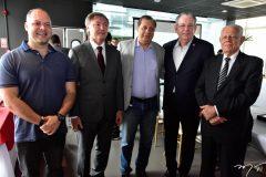 Heitor Freire, Mauricio Filizola, José Airton, Ricardo Cavalcante e Carlos Saboya