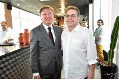 Mauricio Filizola e Leonidas Cristino