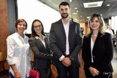 Raquel Cager, Fernanda e Dimas Barreira e Amanda Machado
